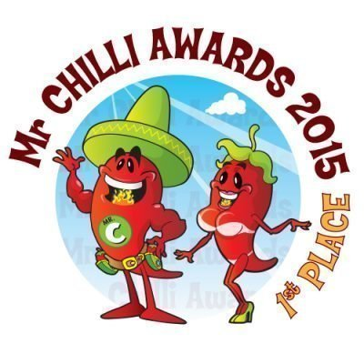 1st Place Mr Chilli Awards